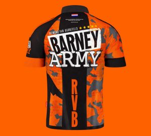 target coolplay raymond van barneveld gen 3 barney army jersey back