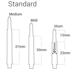 harrows clic normal shaft dimensions
