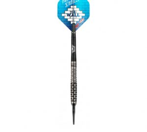 shot and bull's martin schindler 90% tungsten 18 gram soft tip dart