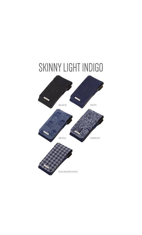 Cameo Skinny Light Indigo Dart Case